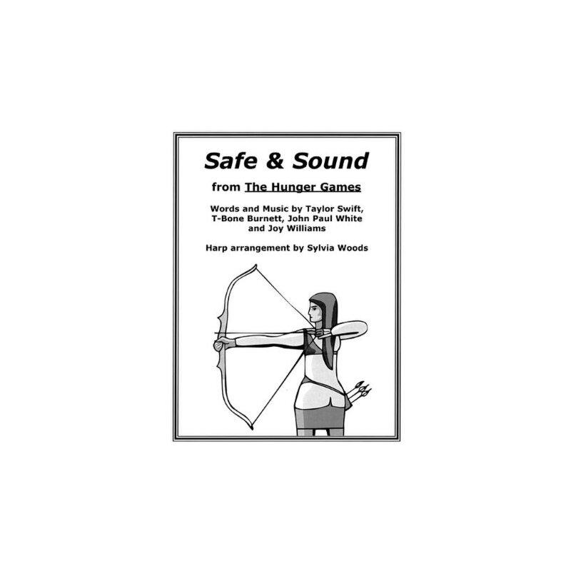 【预订】Safe & Sound from the Hunger Games: Arranged for Harp 美国库房发货,通常付款后3-5周到货!