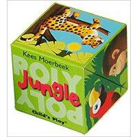 英文原版 盒子立体书:丛林 Roly Poly Pop-Up: Jungle