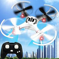 防撞迷你遥控飞机四轴无人机耐摔小型直升儿童玩具充电航拍飞行器