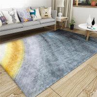 地毯客厅茶几垫简约现代卧室床边满铺房间北欧长方形家用定制机洗y 151号 水墨渐变