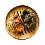 【实物礼盒装】农谣 兴化大闸蟹3.5-4.0两 公蟹 8只 鲜活螃蟹 顺丰包邮