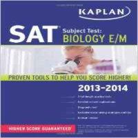 [现货]Kaplan SAT Subject Test Biology E/M 2013-2014