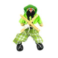 提线木偶 拉线傀儡木娃娃手工木偶人娃娃匹诺曹戏剧提线木偶玩具