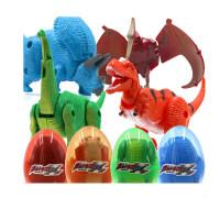 恐龙玩具模型翼龙变形恐龙蛋儿童奥特曼蛋关节会动仿真小霸王龙