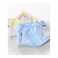 婴儿护肚围宝宝肚兜新生儿护肚子腹围春秋冬季防踢被护肚脐带ZQ101 48cm(0-1岁)