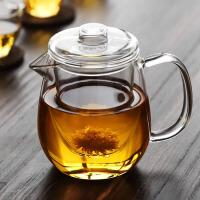 玻璃茶壶家用全玻璃泡茶壶茶具冲茶器大号企鹅壶500ml花茶壶茶具