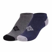 【现货】Columbia/哥伦比亚户外春夏男女通用舒适2色4双装短袜LU9744