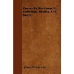 【预订】Poems by Wordsworth, Coleridge, Shelley, and Keats