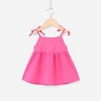 婴儿裙子夏女童连衣裙夏季小儿童公主裙女宝宝吊带裙