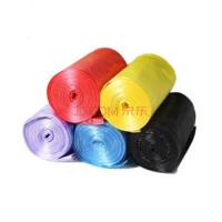 断点式垃圾袋 1卷30只装 炫彩 彩色 加厚垃圾袋 颜色随机发 五卷黑色