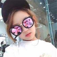 女童太阳镜防紫外线公主潮男童舒适学生儿童眼镜墨镜个性酷