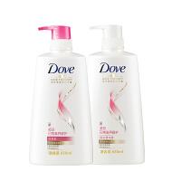 多芬(DOVE)日常滋养修护洗护套装 洗发水650ml+护发素650ml 滋养修护