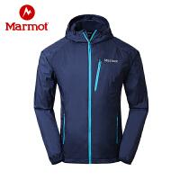 【下单即享折上4折优惠】Marmot/土拨鼠男士夹克衫运动风衣轻薄透气运动外套夹克衫防水外套F52430