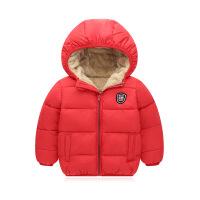秋冬新款儿童羽绒短款男女童中小童加厚连帽棉衣