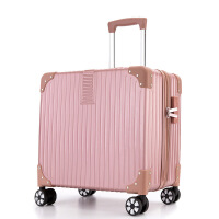 18寸小型登机箱16小行李箱男女士拉杆箱旅行箱韩版复古迷你密码箱