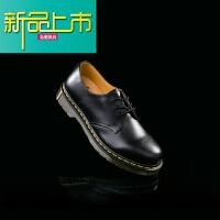 新品上市. M 马汀博士11经典3孔系带英伦风低帮男皮鞋118302 11-118002 现货