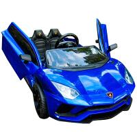 儿童汽车可坐人双人婴儿童电动车四轮摇摆可坐小孩汽车遥控童车宝宝玩具车可坐人ZQ159
