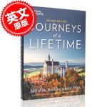 现货 《一生之旅》二版:世界上伟大的500次旅行 英文原版 JOURNEYS OF A LIFETIME 2ND ED