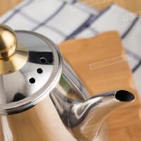加厚新款不锈钢电磁炉烧水壶平底泡茶壶茶具开水壶煮水壶小茶壶