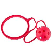 儿童旋转健身器材单脚跳 感统器材旋转跳跳环圈单脚跳小孩甩脚球健身蹦蹦球