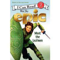 Epic: Meet the Leafmen (I Can Read, Level 2) Lucy Rosen(露西・