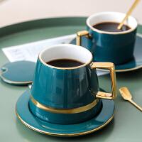 陶瓷杯子创意个性潮流马克杯带盖勺办公室咖啡杯子水杯家用