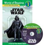 英文原版绘本 World of Reading Star Wars L1 附CD 3个故事合辑 迪士尼星球大战绘本