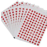 奖励贴纸烫金塑料五角星奖励贴防水金银彩色红色星星贴幼儿园儿童贴画玩具