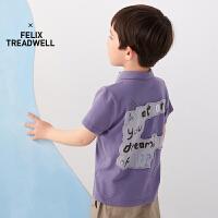 【秒杀价:135元】马拉丁童装男童T恤2020夏装新款洋气多色POLO领短袖T恤