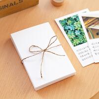 双面空白荷兰白卡纸A6明信片水彩卡纸手绘贺卡卡片
