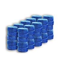 30只装蓝泡泡洁厕灵马桶自动清洁剂 厕所除臭剂