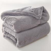双层毛毯加厚珊瑚绒单人双人毯子冬季保暖床单法兰绒午睡沙发盖毯y