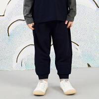 【秒杀价:153元】马拉丁童装男女童裤子春装2020新款舒适运动收口裤儿童长裤
