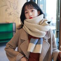 围巾女秋冬季韩版学生甜美可爱针织加厚冬天保暖原宿清新围脖毛线
