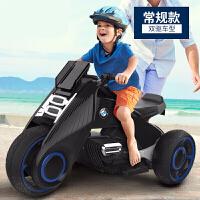 儿童电动三轮车儿童电动摩托车小孩玩具男女宝宝电瓶双驱动童车大号可坐人