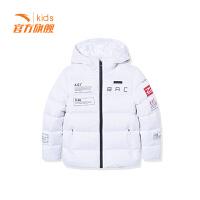 安踏童装男童加厚保暖羽绒服儿童运动外套保暖35848911