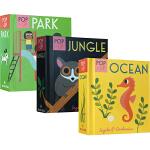 英文原版 Pop-up Park/Jungle/Ocean 幼儿认知立体小书 3册 儿童启蒙早教互动绘本