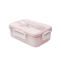 饭盒便当盒学生带盖简约食堂分格微波炉减肥餐保鲜餐盒