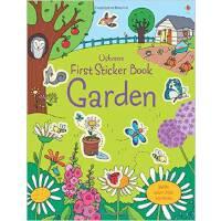 First Sticker Book Garden 进口英文原版 宝宝贴纸书:花园