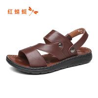 红蜻蜓男士凉鞋WTL81092