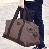 超大容量手提帆布旅行包男女旅行袋斜挎短途行李包出差旅游包搬家
