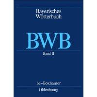 【预订】Bayerisches Worterbuch (Bwb), 2, Be - Boxhamer