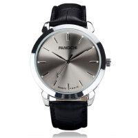 石英男表真皮带女士手表 休闲商务男士手表防水时尚潮男皮带手表