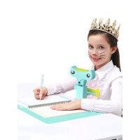 猫太子防近视坐姿矫正器纠正儿童书写姿势写字架小学生写作业矫正坐姿神器支架提醒防驼背预防小孩视力保护器