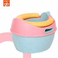 gb好孩子儿童马桶坐便器男女宝宝马桶儿童尿盆便盆加大带坐垫
