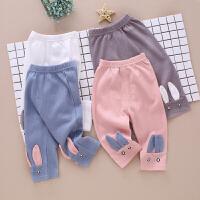 婴儿裤子春秋款女童休闲裤外穿长裤儿童打底裤