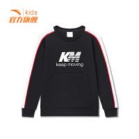 【3折价71.7】安踏童装男童套头卫衣儿童运动套头衫35915701
