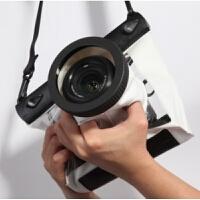 高清单反相机防泼水袋佳能70D 600D 5D3 700D单反防泼水套罩潜水20米