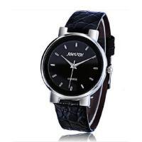 新款超薄手表个性时尚休闲 男表潮流真皮带情侣石英表休闲时尚男女士腕表