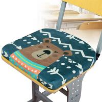 学校记忆棉垫子学生坐垫教室椅子加厚凳子椅垫冬季座垫绑带屁股垫k 37x35x4cm